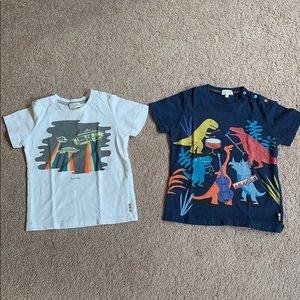 2 Paul Smith Junior tee shirts, set. Size 3